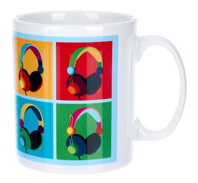Music Sales Headphones Mug