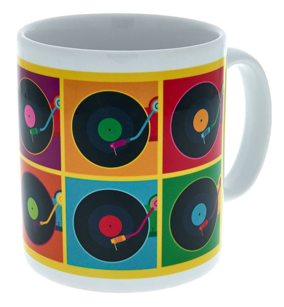 Music Sales Record Player Mug