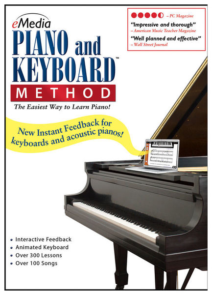 Emedia Piano and Keyboard Method-Win