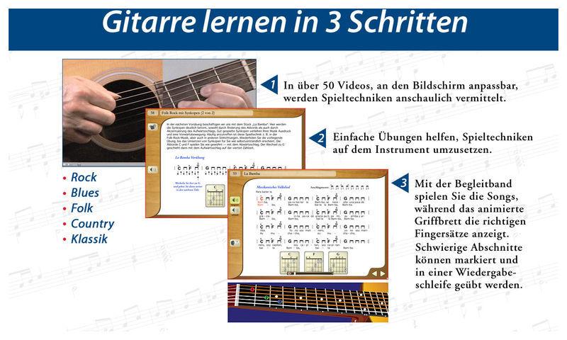 Emedia Gitarren Schule - Win