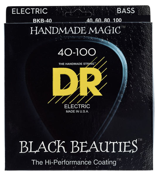 DR Strings Extra Black Beauties BKB-40