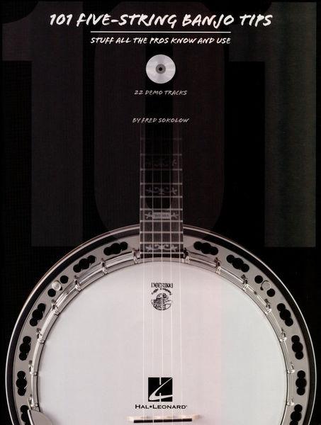 Hal Leonard 101 Five-String Banjo Tips