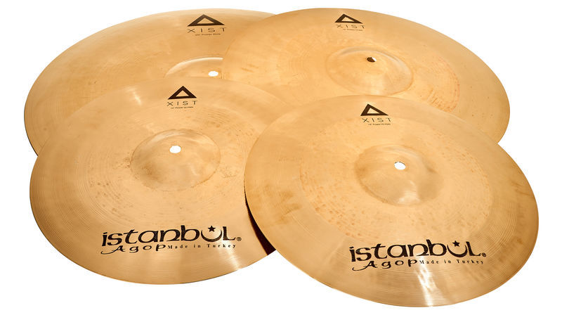 Istanbul Agop Xist Bril. Power Cymbal Set