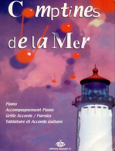 Editions Bourges R. Recueil Comptines De La Mer