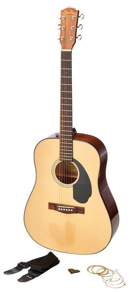 Fender CD-60S Dreadnought Pack NT