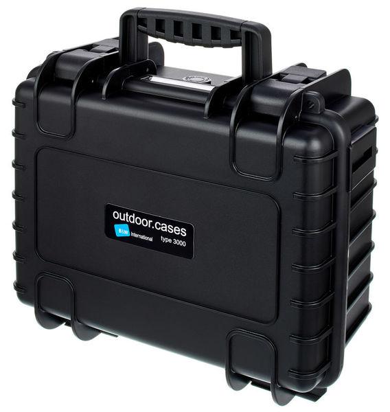 outdoor case 3000 B&W