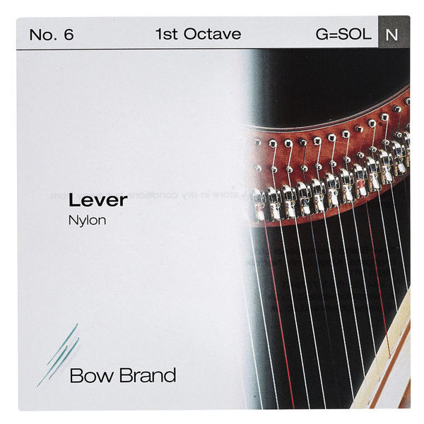 Bow Brand Lever 1st G Nylon String No.6