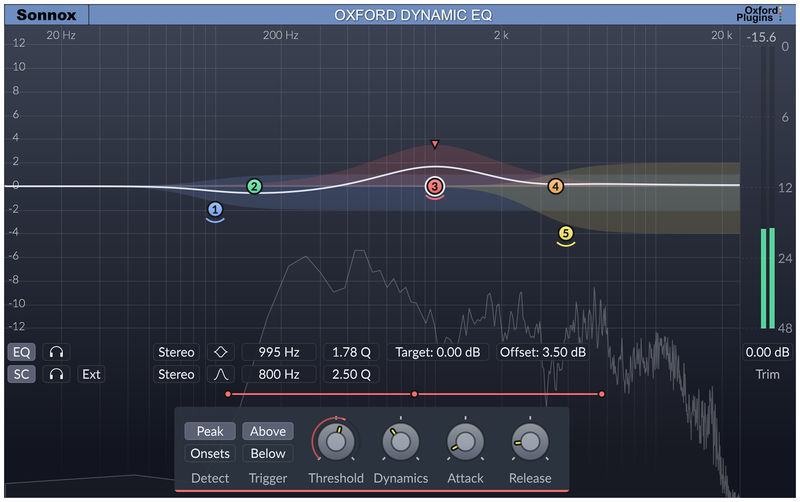 Sonnox Oxford Dynamic EQ Native