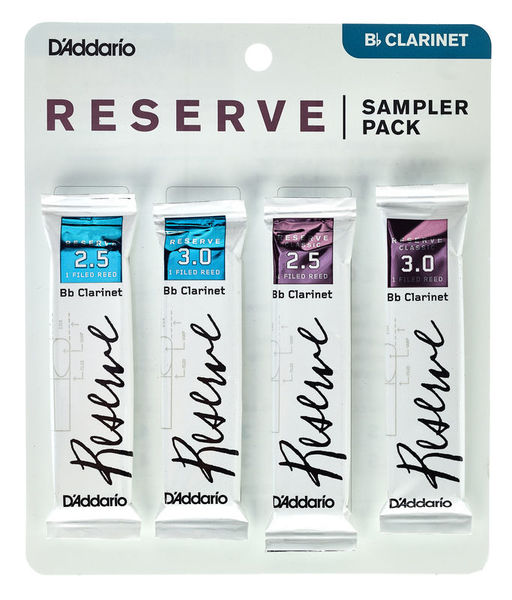 DAddario Woodwinds Reserve Clarinet Sampler P 2,5