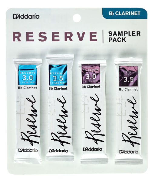 D'Addario Woodwinds Reserve Clarinet Sampler P 3,0