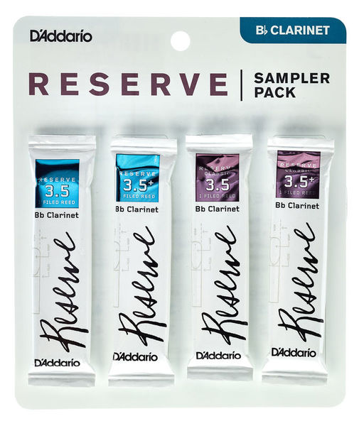 DAddario Woodwinds Reserve Clarinet Sampler P 3,5