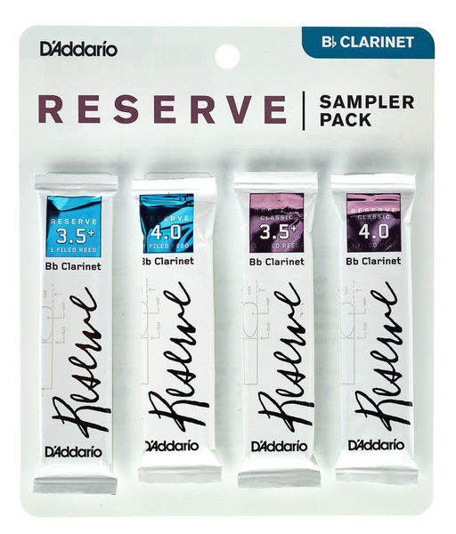 Daddario Woodwinds Reserve Clarinet Sampl. P 3,5+