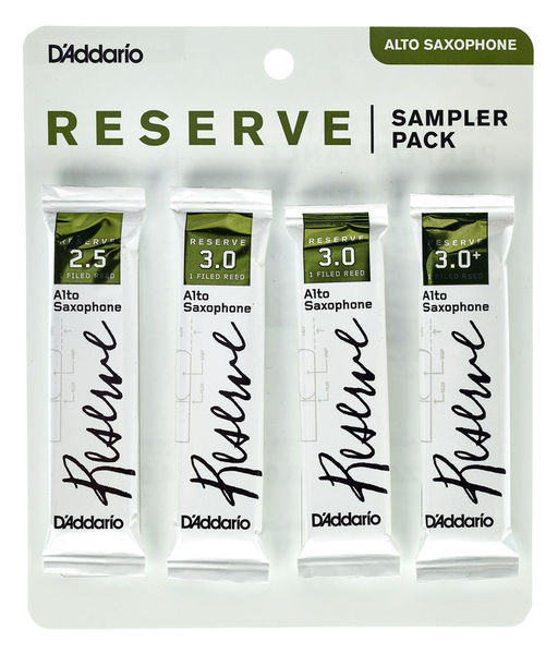 D'Addario Woodwinds Reserve Alto Sampler Pack 2,5