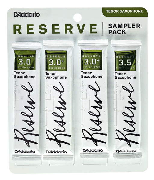 Daddario Woodwinds Reserve Tenor Sampler Pack 3,0