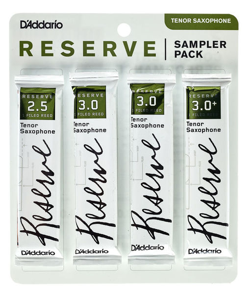 Daddario Woodwinds Reserve Tenor Sampler Pack 2,5