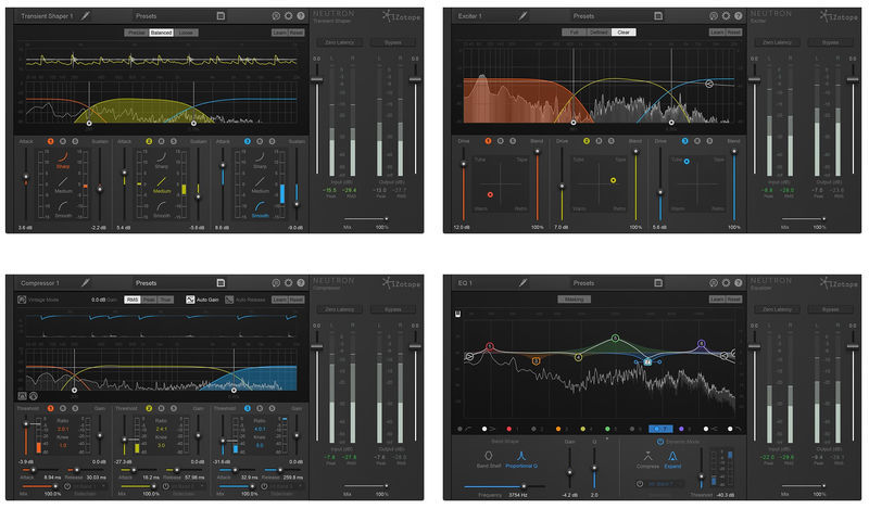 iZotope Neutron Upgrade Elements