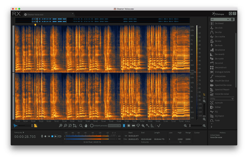iZotope RX 6 Advanced Upg. RX Standard
