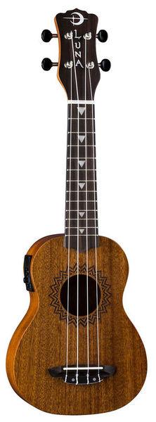 Luna Guitars Uke Vintage Mahogany w/PU S