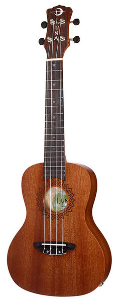 Luna Guitars Uke Vintage Mahogany w/PU C