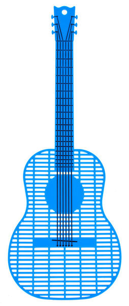 Music Sales Guitar Shaped Fly Swatter