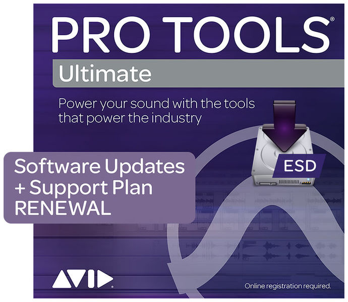 Pro Tools Ultimate Upd Renewal Avid