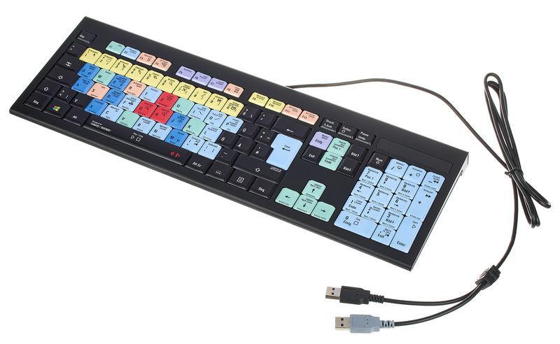 Logickeyboard Astra Cubase/Nuendo PC DE