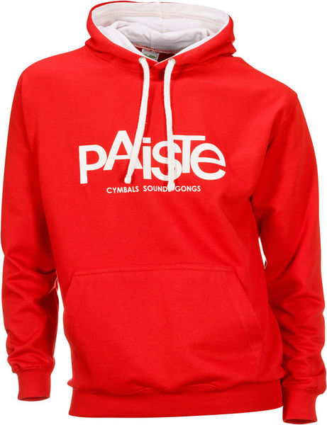 Paiste Contrast Hoody Red M