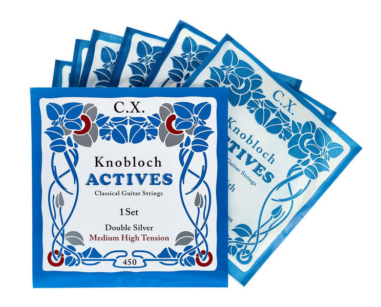 Knobloch Strings Double Silver Carbon CX 450KAC