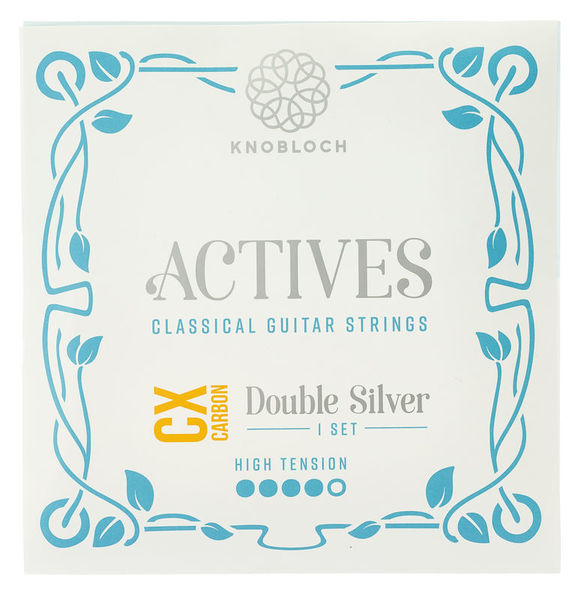 Knobloch Strings Double Silver Carbon CX 500ADC