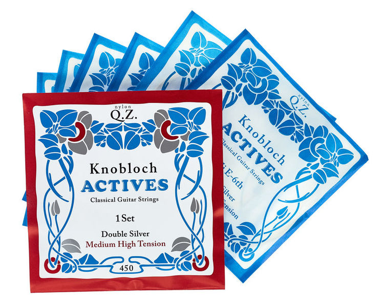 Knobloch Strings Double Silver Nylon QZ 450KAQ