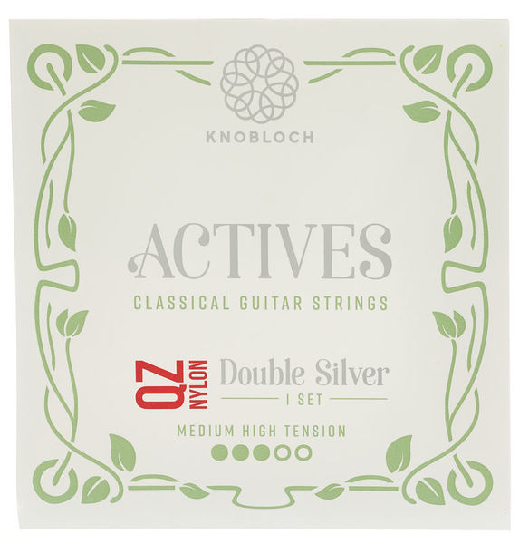 Knobloch Strings Double Silver Nylon QZ 400ADQ