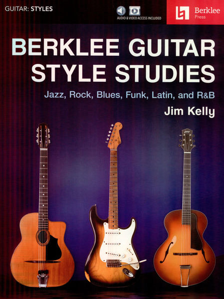 Berklee Press Berklee Guitar Style Studies