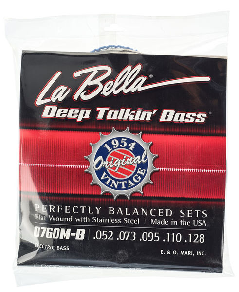 La Bella 0760M-B Deep Talkin Bass
