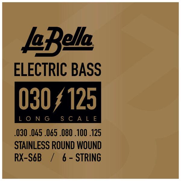 La Bella RX-S6B Bass RWSS