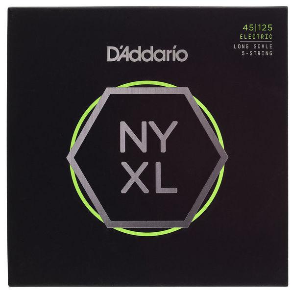Daddario NYXL45125 Bass Set