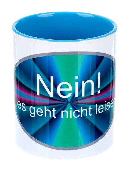 Alois Hübl Coffee Mug Es geht nicht leise