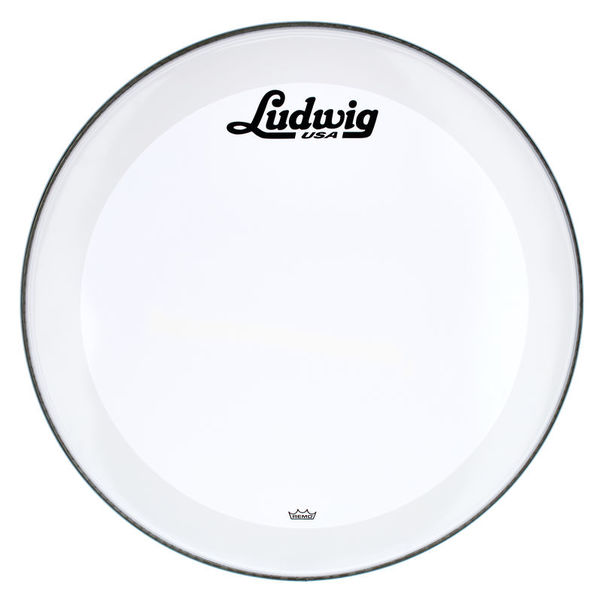 "Ludwig 24"" Bass Drum Head Vint. Logo"