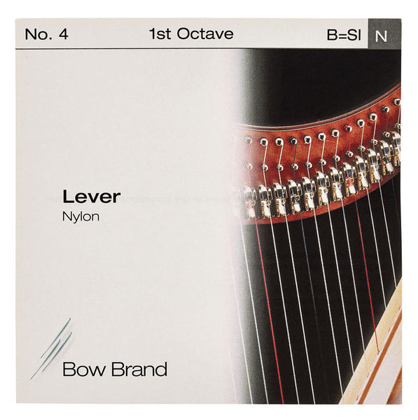 Bow Brand Lever 1st B Nylon String No.4