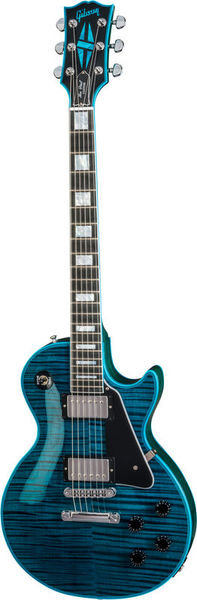 Gibson LP Custom Peacock Widow