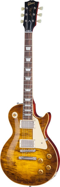 Gibson LP Rock Top Fossilized Flame