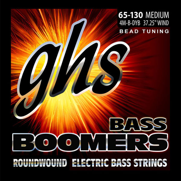 GHS Bass Boomers 65-130 Medium