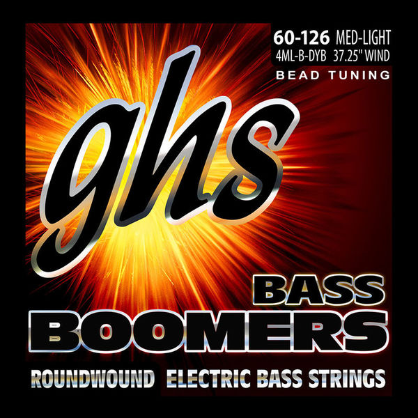 GHS Bass Boomers 60-126 Medium L