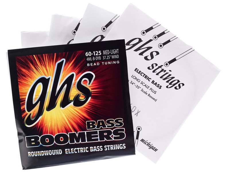 GHS Bass Boomers 60-126 Medium L