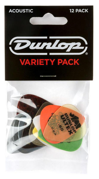 Dunlop Acoustic Pick Variety Pack