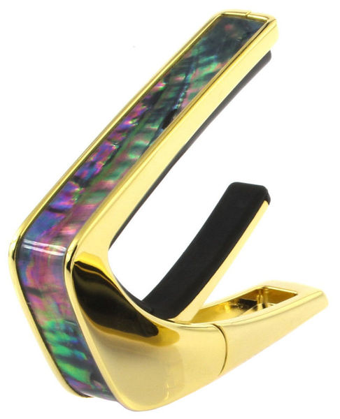 Black Ripple 24k Gold Finish Thalia Capo
