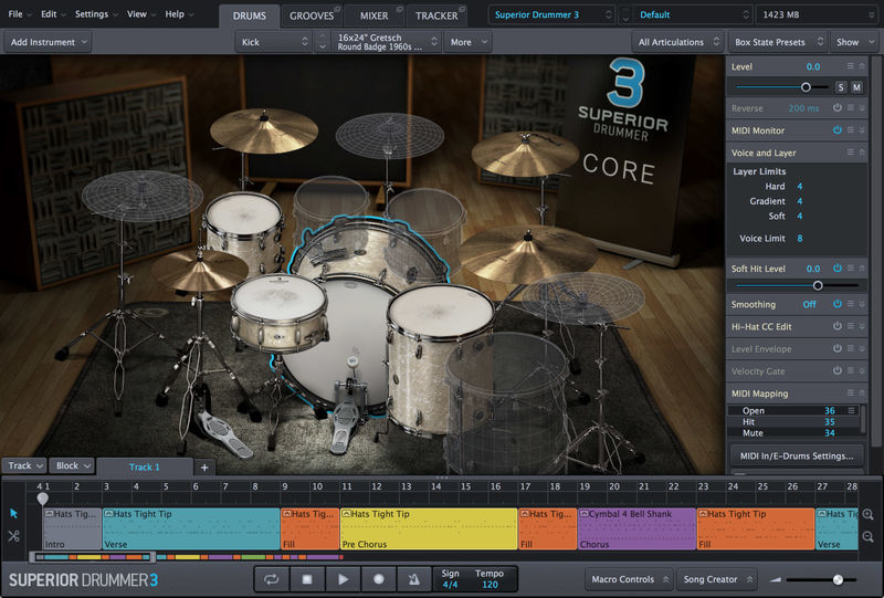 Superior Drummer 3 Toontrack