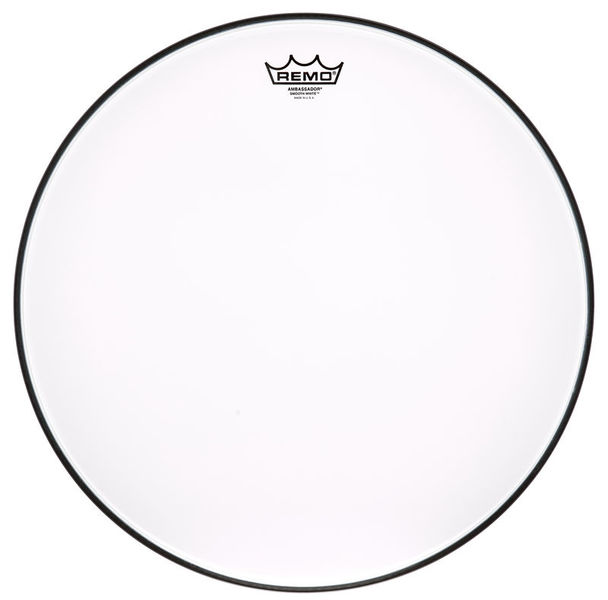 "Remo 18"" Ambassador Smooth White"