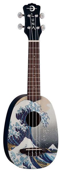 Luna Guitars Ukulele Great Wave Soprano