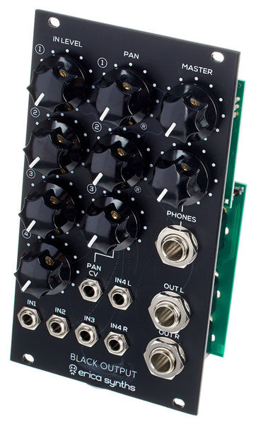 Erica Synths Black Output Module V2