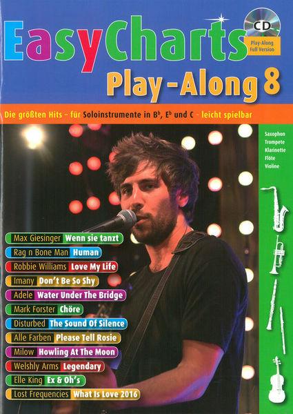 Easy Charts 8 Play-Along Schott